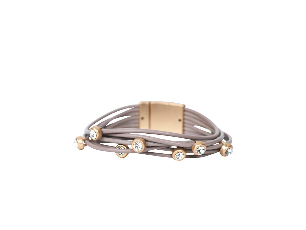 Armband Stella Taupe