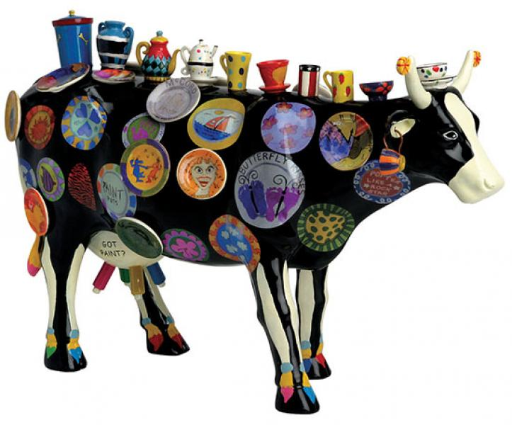 Cowparade The Moo Potter  Extra Large