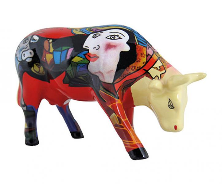 Cowparade Hommage to Picowso´s African Period Medium Ceramic