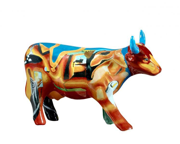 Cowparade Cowlvado Dali Medium Ceramik