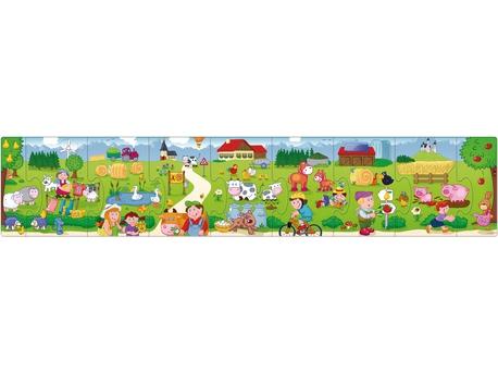 Puzzle Bauernhof Wimmel