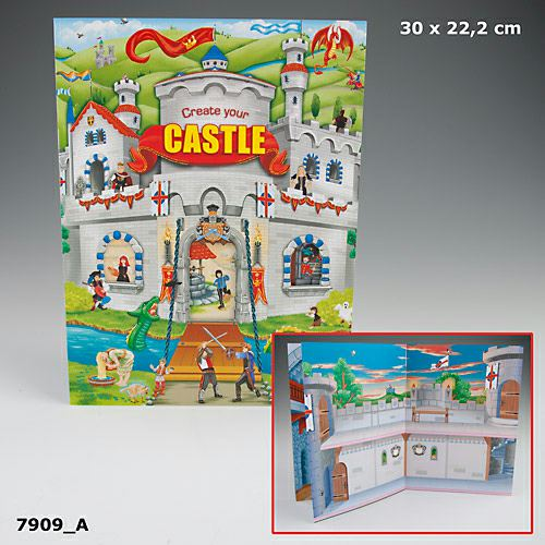 Create your castle Malbuch