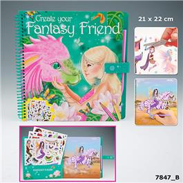 Create your fantasy friend Malbuch