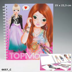 Create your topmodel Malbuch