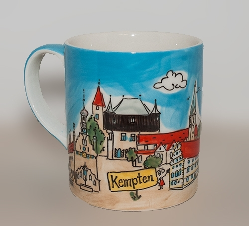 Kempten Tasse Illustration