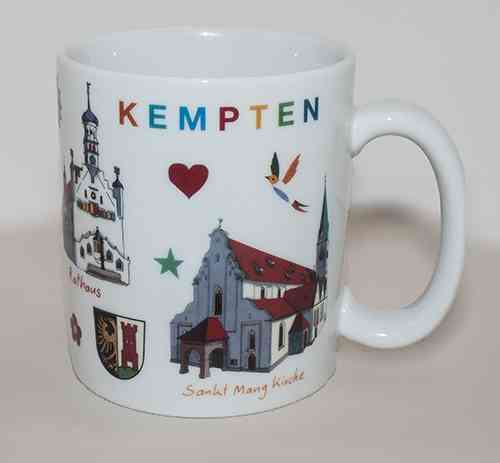 Kempten Tasse Selektion
