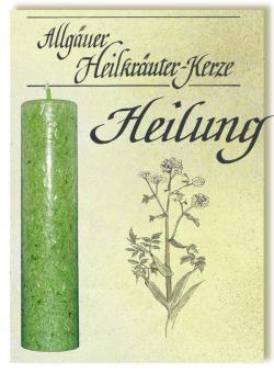 Allgäuer Heilkräuterkerze - Heilung