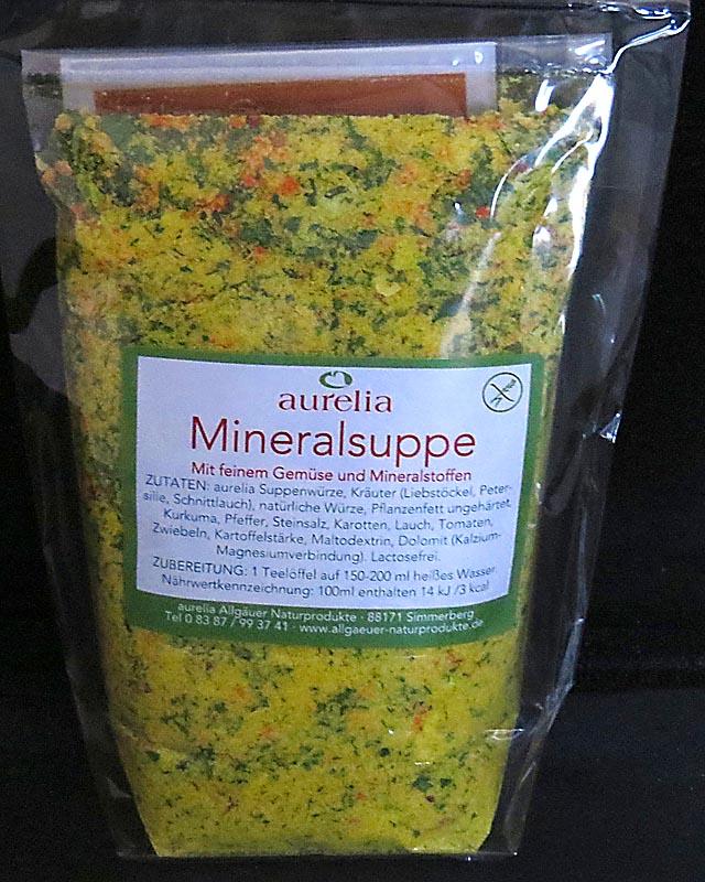 Allgäuer Mineralsuppe