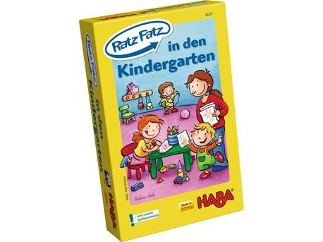 Spiel Ratzfatz In den Kindergarten