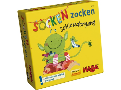 Spiel Socken Zocken Schleudergang Supermini