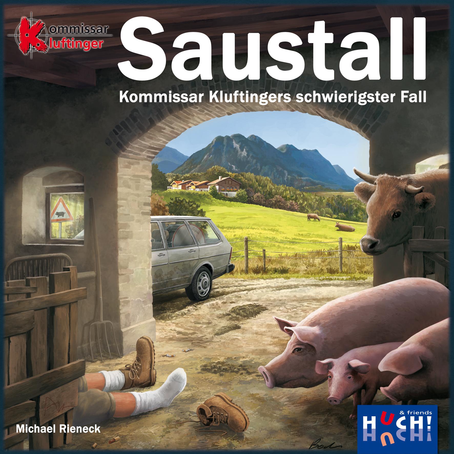 Saustall - Kommissar Kluftingers schwerster Fall
